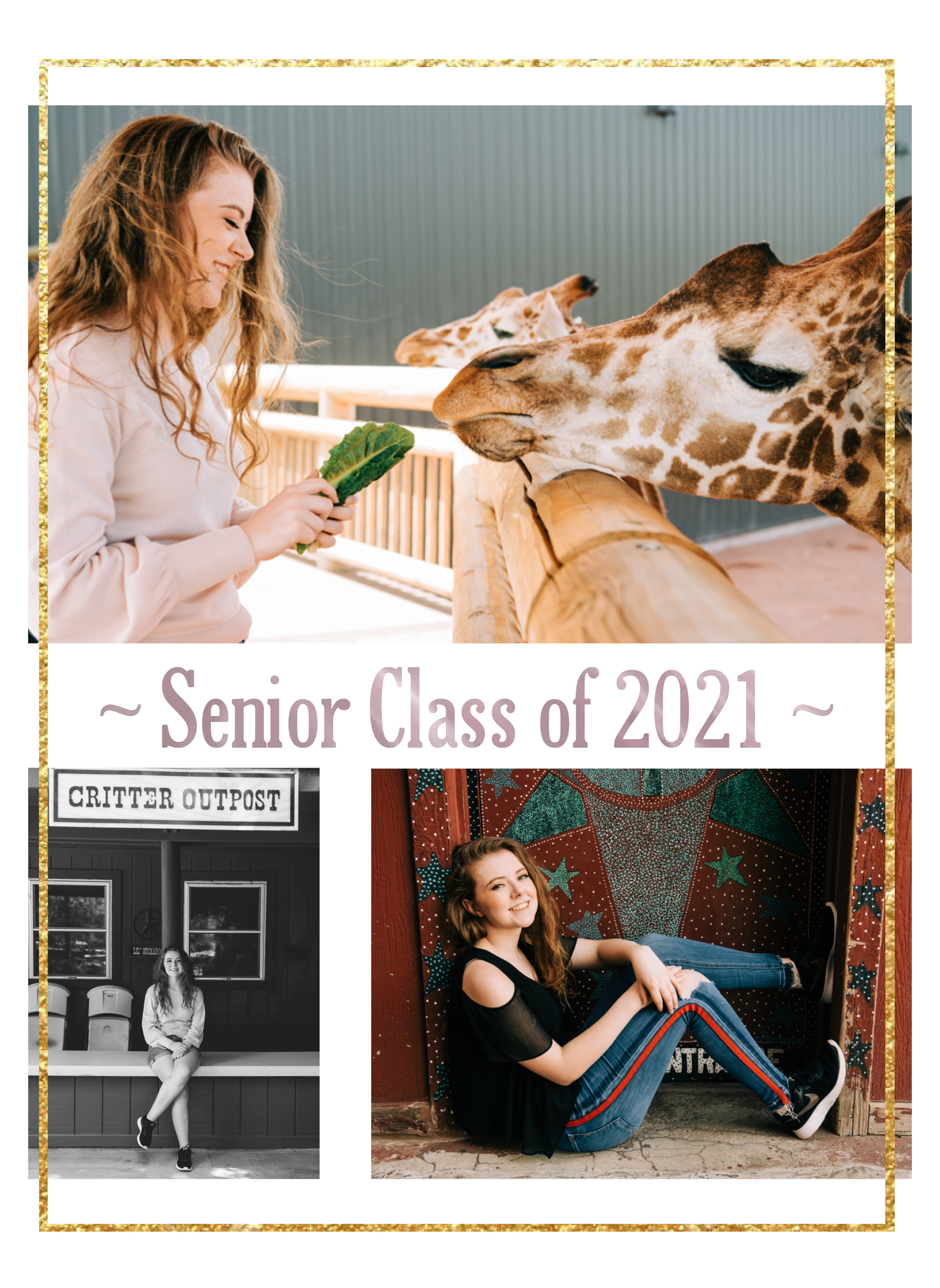 Senior Girl Zoo