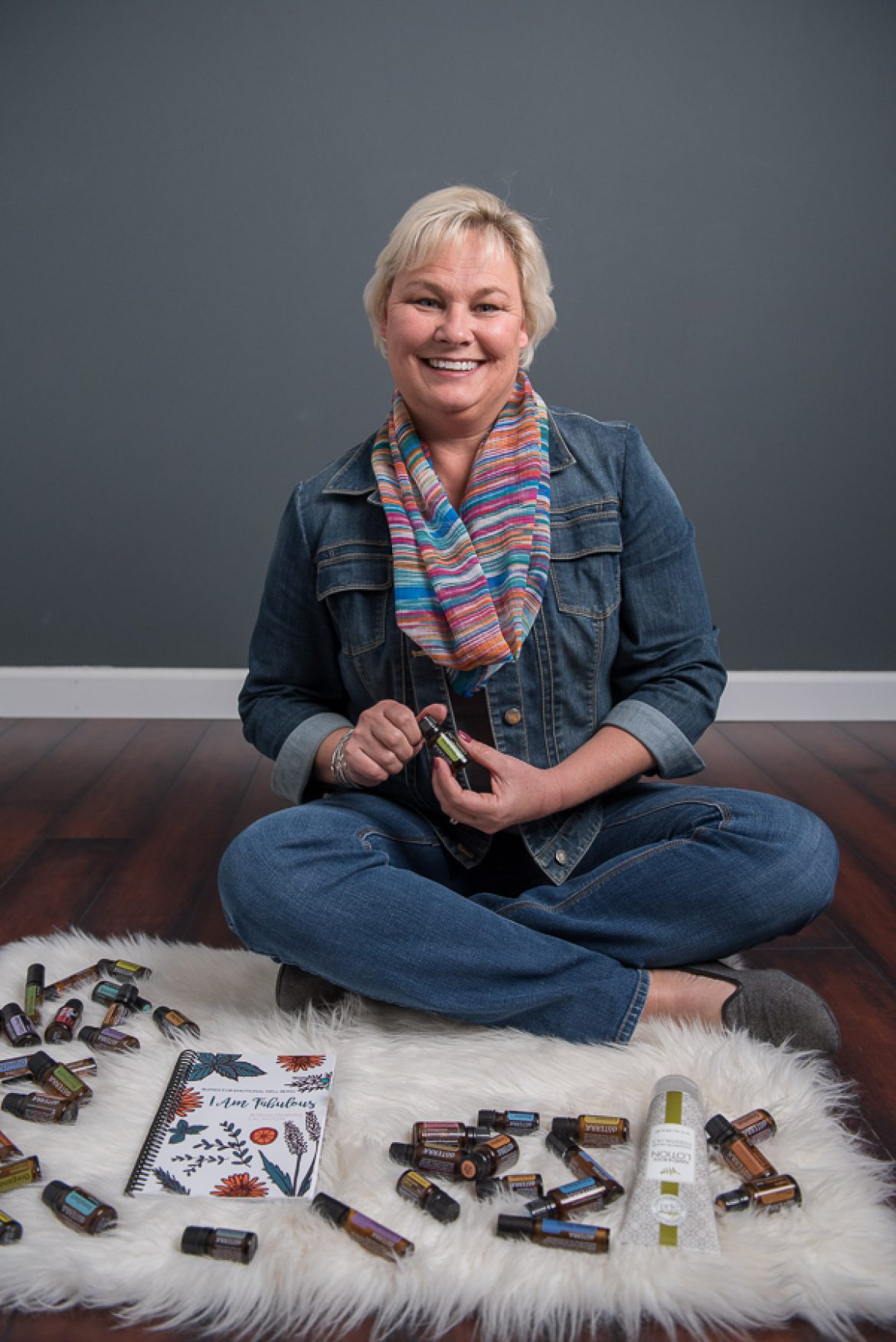 DoTerra Essential Oils by Deb || Lincoln Independent Consultant Environmental Headshots