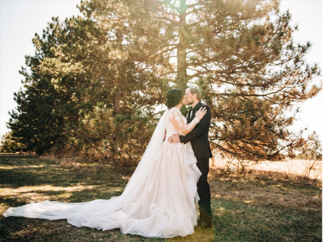 Andrea and Brian get married // Lincoln Wedding Photography // Lincoln Nebraska