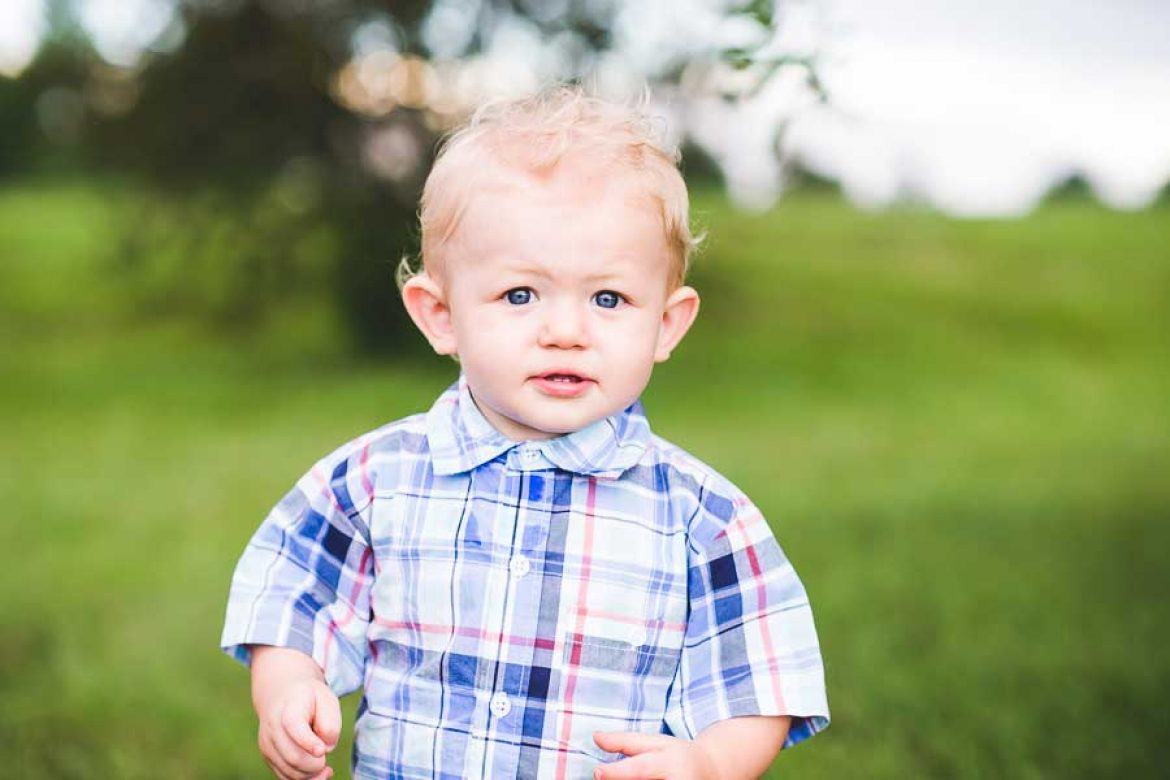 Jackson 1 year | Lincoln Lifestyle Photographer, Woods Park