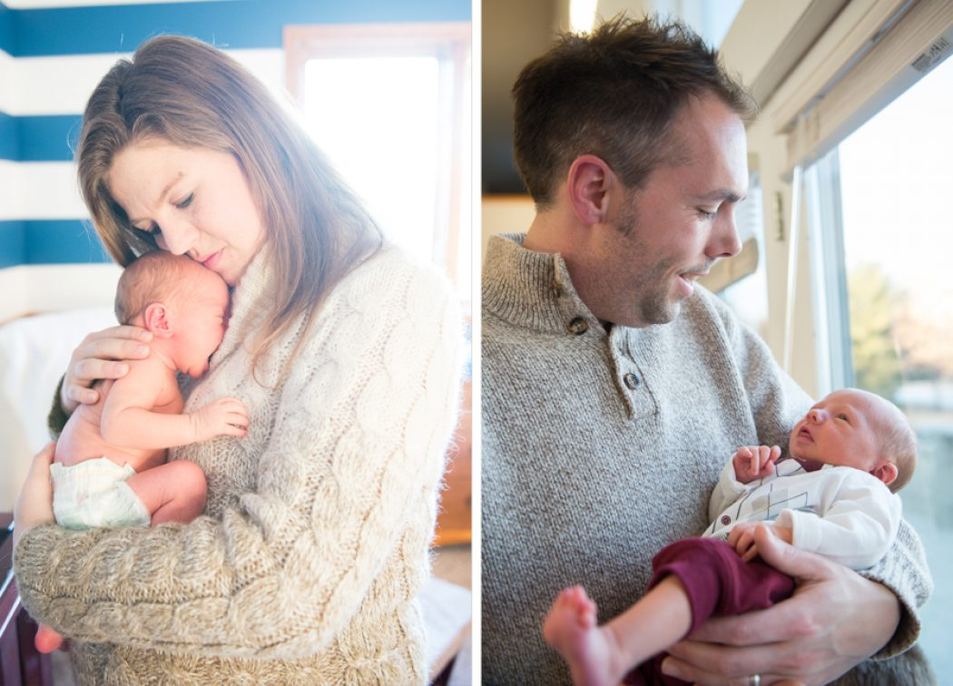 The B Family welcomes a new member ~ Lincoln Family Photographer
